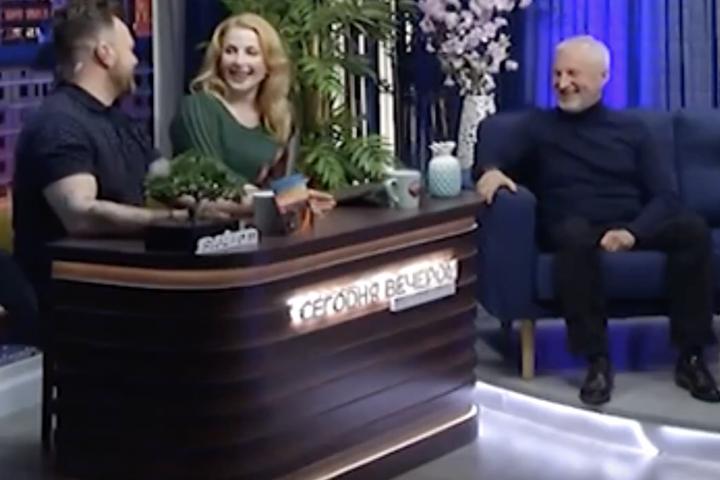 Иван Котва на КаскадТВ Программа Сегодня вечером