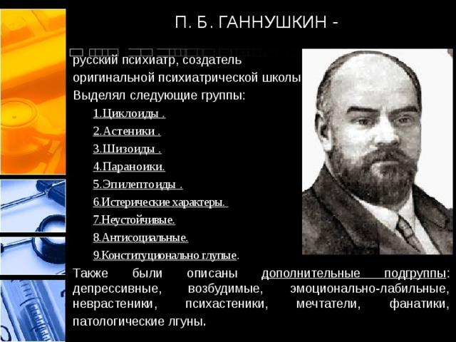 ганнушкин